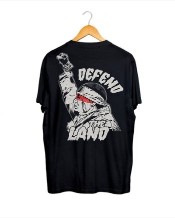 camiseta negra manga corta hombre nativo americano
