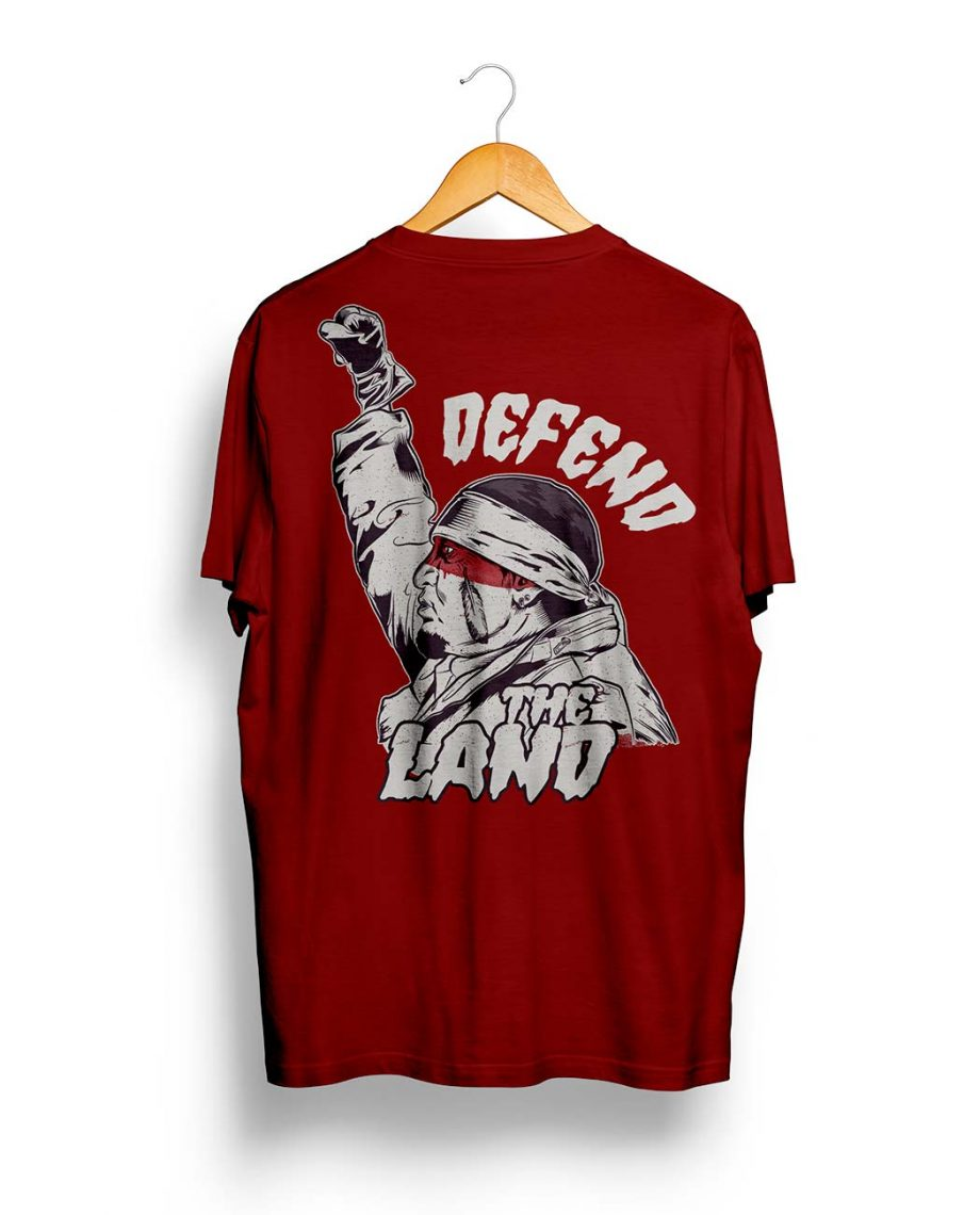 Camiseta Defend the Land Red