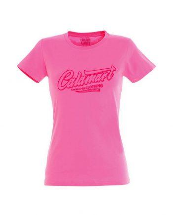 Camiseta manga corta mujer logo