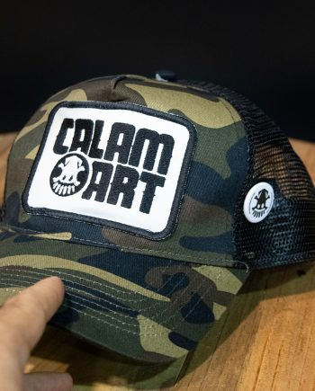 gorra old school camo