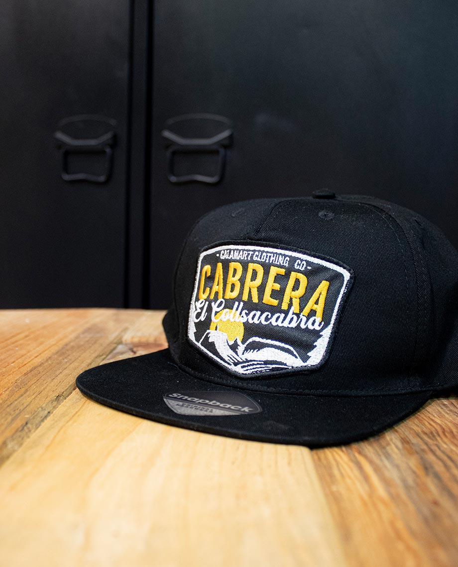 gorra cabrera negra
